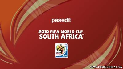 PESEdit.com 2010 FIFA World Cup Patch - Version 1.01