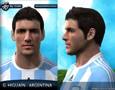 Higuain Face by Crihh