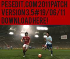 PESEdit 2011 Patch 3.5