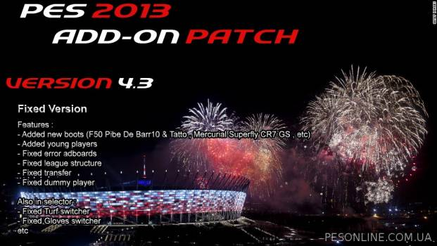 PESEdit 2013 Patch 6.0 обновление на 30.03.2015 от Kalasnikov Productions