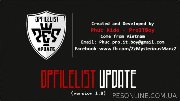 PES 2015 DpFileList UPDATE v1.8 by ProITBoy