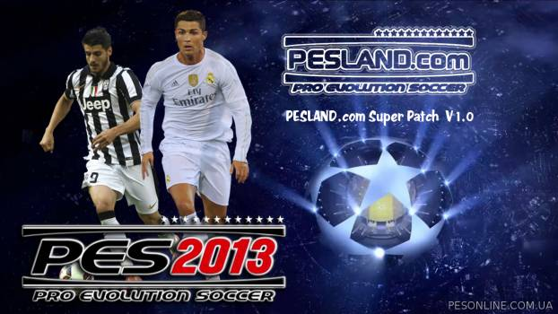 PESLAND 2013 Super Patch 1.0 + обновление 1.1 (Season 2015/16)