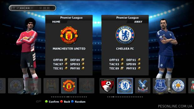 PESEdit 2013 Patch 8.1 Update 2015/2016 Legends Edition