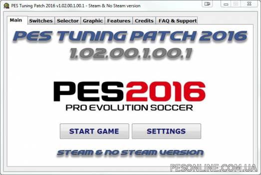 PES Tuning 2016 Patch 1.02.00.1