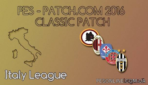 PES-Patch 2016 Classic Patch
