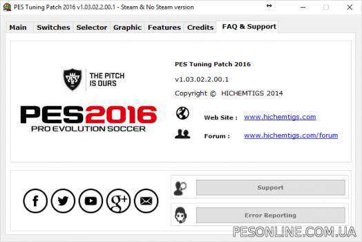 PES Tuning 2016 Patch 1.03.02.2.00.1