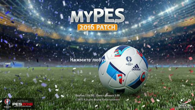 myPES 2016 Patch 0.6 (DLC 3.00)