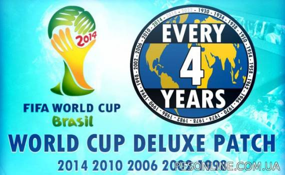 World Cup Deluxe 2013 Patch History 1.0