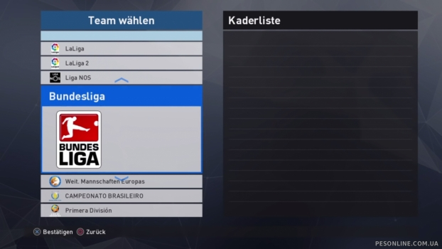 PS4 Option 2017 File Patch 1.1 (Bundesliga) by Cristiano92