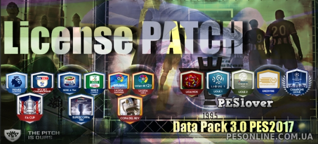 License 2017 Patch 3.0 (DLC 3.00) by PESlover