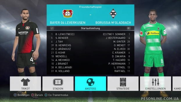 FBNZ 2018 Option File 1.0 (Bundesliga) PC/PS4