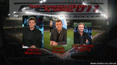 French FIFA Commentary for PES 2011