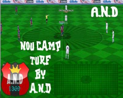 NOU CAMP Turf by A.N.D