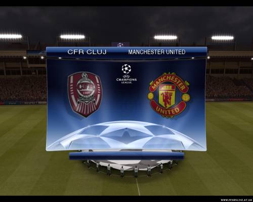 PES 2009. Roma Vs Real Madrid Gameplay Trailer