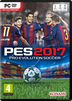 PES 2017 PC Demo cover